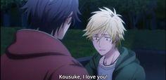 FINALLY.!!! Masahiro, wielkie brawa, skarbie <3   |  Kousuke my hero <3 01x12