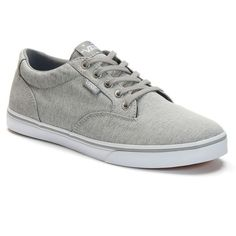 Vans Winston Women's Skate Shoes ($40) ❤ liked on Polyvore featuring shoes, sneakers, grey chambray, skate shoes, gray shoes, vans trainers, vans shoes and print sneakers