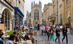 Tourists in Bath