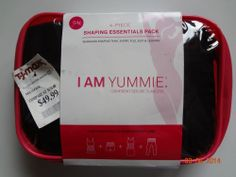 I Am Yummie 4-Piece Shaping Essentials S/M NWT Black Confident Secure Flawless