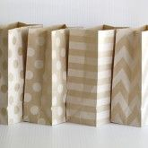 This site has the cutest bags (chevron, striped, dots, glassine, gift boxes, popcorn, envelopes...), tape, paper straws, bakers tine, hang tags, coasters!