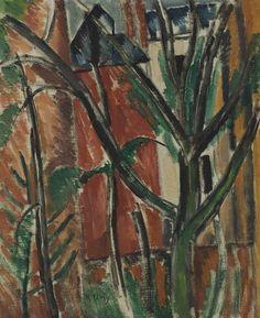 Raoul Dufy (Fr., 1877-1953), Paysage, 1909, huile sur toile, 35,3 x 29 cm