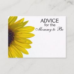 Shop Advice for the Bride to Be Giant Sunflower Cards created by GardenHarbor. Wedding Advice Cards, Advice For Bride, Wedding Cards, Wedding Ideas, Giant Sunflower, Sunflower Cards, Baby Shower Advice, White Elephant Gifts, Bridal Shower Invitations