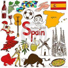 Colección de iconos de España