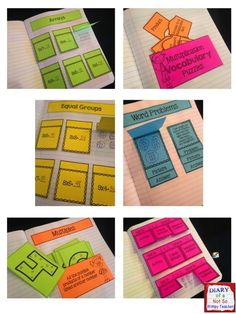 Multiplication Interactive Notebook. Simple foldables and lots of ways to differentiate. Perfect for teaching, practicing and assessing the foundations of multiplication.