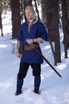 Measurements are required for this custom made item (additional fees apply for plus size items, link below)*** Viking Tunic, Viking Dress, Medieval Tunic, Vikings, Viking Clothing, Viking Age, Viking Woman, Provocateur, Linen Tunic