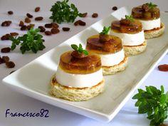 Panna Cotta, Finger Food Appetizers, Finger Foods, Flan, Gourmet Recipes, Dessert Recipes, Desserts, Mousse, Hors D'oeuvres