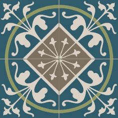 carrelage ciment royal bleu moselle
