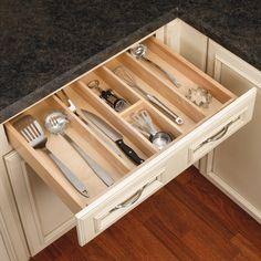 """Rev-A-Shelf Utility Tray 24""""W-Wood 4WUT- 3"""