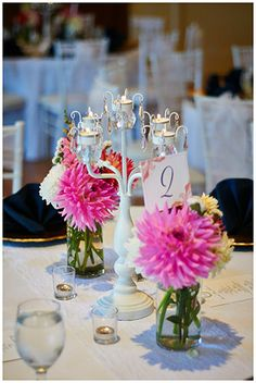 Olive Design House | Monte Cristo Ballroom  Modern and Elegant Centerpieces