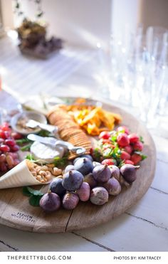 Rustic share-style platters make for great starters   Real weddings   Photograph by Kim Tracey Photography