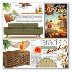"""""""Paradise beach"""" by annatiblog ❤ liked on Polyvore featuring interior, interiors, interior design, home, home decor, interior decorating, Anja, Thrive, Pier 1 Imports and Oriental Weavers"""