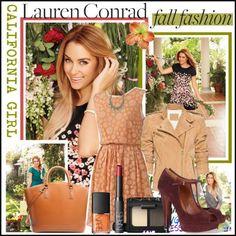 Lauren Conrad Polyvore Challenge... i have the black flowered dress :)