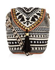 Tribe Braided Mini Pouch Bag