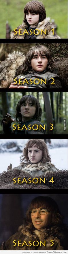 Exclusive picture of Bran Stark from Game Of Thrones season 5 - Game Of Thrones Memes