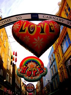 Carnaby Street, UK.. flickr.com smittenbybritain.com