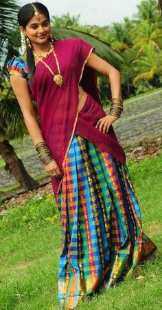 half- sari