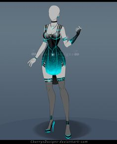 (closed) Outfit Adopt 658 by CherrysDesigns