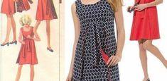 DIY - molde, corte e costura - Marlene Mukai - DIY - patrones, pattern, Vêtements Vestido Casual, Vestidos Vintage, Ideias Fashion, Fashion Looks, Short Sleeve Dresses, Diy, Blazer, Summer Dresses, Google Translate