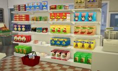 Budgie2budgie: The food store pasta boxes • Sims 4 Downloads