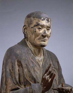 国宝 無著像 運慶作 1212年 撮影:金井杜道 Japanese National Treasure Buddhist statue