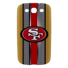 San Francisco 49ers Style Metal Samsung Galaxy S3 Hardshell Case Cover