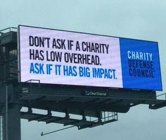 We are up on eight billboards in MA with over 1,050,000 people seeing this each week. @CharityDefense