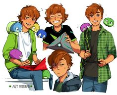 Pidge / Katie Holt at different phases/times.They're adorable ~ ! They look genderbent