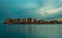 Boston Skyline Long Exposure by Toby Harriman Boston Skyline, Seattle Skyline, New York Skyline, Urban Photography, Photography Photos, East Boston, Lee Filters, Travel Memories, Long Exposure