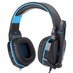 EACH G4000 Pro Gaming Headset Stereo Sound 2.2M Wired Headphone Noise Reduction with Microphone for Computers iPhone iPod Smartphone Tablet PC $47.1 73.68% off