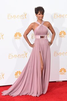 1c1660feeac Halle Berry at the 2014 Emmy Awards. Dressy AttireRed Carpet ...