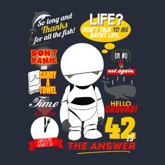 marco-pedrazzoli:  The answer to the meaning of life, the universe, and everything @ teepublic https://www.teepublic.com/show/66077-42