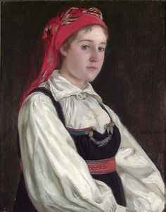 More about Olaf Isaachsen, Portrait of Wilhelmine Seippel