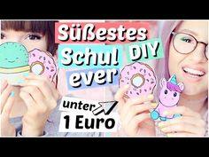 Süßestes DIY für 1€ - NOTIZBLÖCKE für die SCHULE   ViktoriaSarina - YouTube