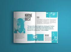 Ego Editorial Design, Graphic Design, Typography