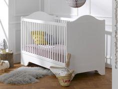 Lit chambre bébé Blanc Provence