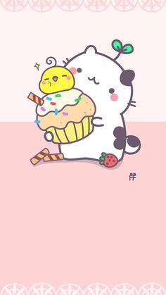 By FF  / Soo #Kawaii  > Download more crazy cute #iPhone #Wallpapers at @prettywallpaper