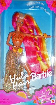 Pink & Gold Hula Hair Barbie Mattel http://www.amazon.com/dp/B000799OMO/ref=cm_sw_r_pi_dp_Mmv-tb1HWZFD3