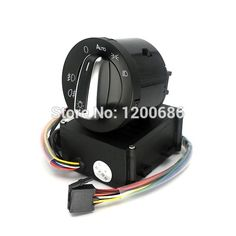 59.50$  Buy here - http://alijir.worldwells.pw/go.php?t=1000000580074 - Auto Headlight Head Light Sensor Button Knob Switch For VW Volkswagen Golf 4 VW Polo New Bora Lavida 59.50$