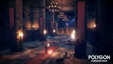 Dungeons Pack for Unity