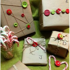 wrapping gifts - a great way to recycle paper bags | FaveCrafts.com