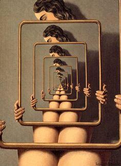 konczakowski: Dangerous Liaisons (1926) - René // Magritte. #gif