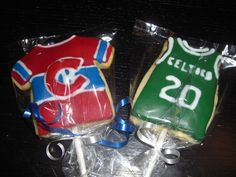 Montreal Canadiennes and Boston Celtics Jersey