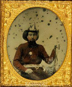 (c.1850s-1860s) Fireman