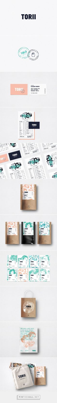 TORII Tea Lovers Branding and Packaging by Stundra | Fivestar Branding Agency – Design and Branding Agency & Curated Inspiration Gallery
