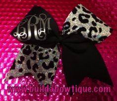 Cheetah Monogram