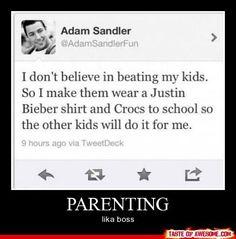 Adam Sandler Parenting