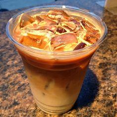 Vanilla Iced Latte ... #coffee #drinks #recipe