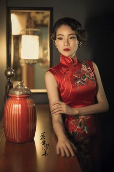 Traditional Fashion, Traditional Dresses, Shanghai, Asian Woman, Asian Girl, Chinese Gown, Oriental Dress, Chinese Clothing, Cheongsam