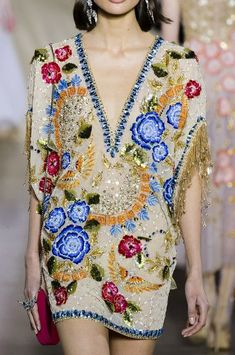 Georges Hobeika Spring 2018 Couture Fashion Show Details Fashion 101, Look Fashion, Runway Fashion, Spring Fashion, Fashion Show, Fashion Outfits, Fashion Trends, Latest Fashion, Couture Embroidery
